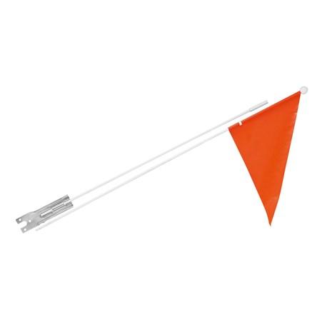 Modernistyczne Flaga rowerowa   Rowerek będzie bardziej widoczny   KAYOBA WY11