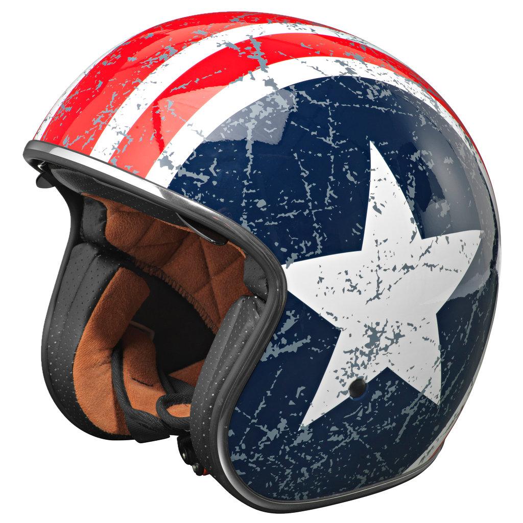 Kask motocyklowy rebel star 55-56