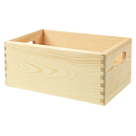Bardzo dobry Skrzynia drewniana | Sosna surowa | HARD HEAD | Jula RW03