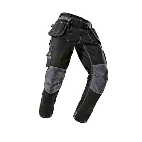 Spodnie Robocze Wiele Kieszeni I Uchwytów Blue Wear